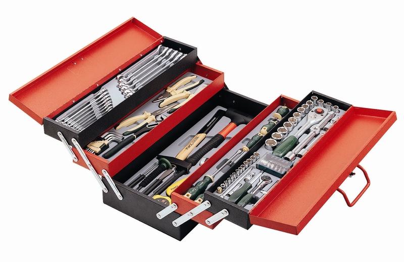 Caisse à outils avec 101 outils FORCE