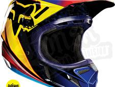 Casque motocross FOX V4 Race Orange 2015